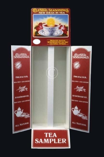 Celestial Seasonings Tea display